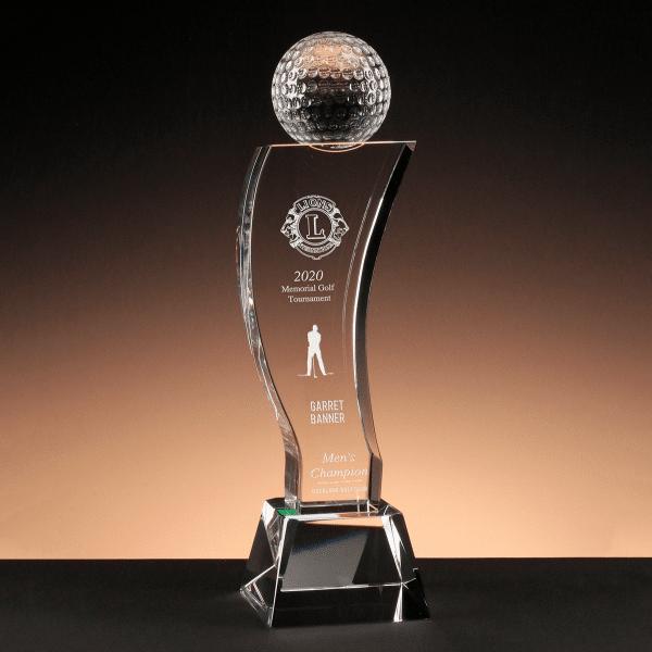 Cascade Golf - Crystal Golf Award