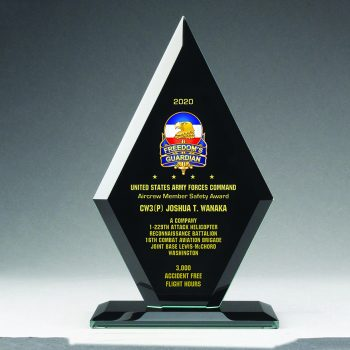 Diamond Plaque - Black