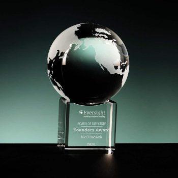 Crystal Globe Sphere