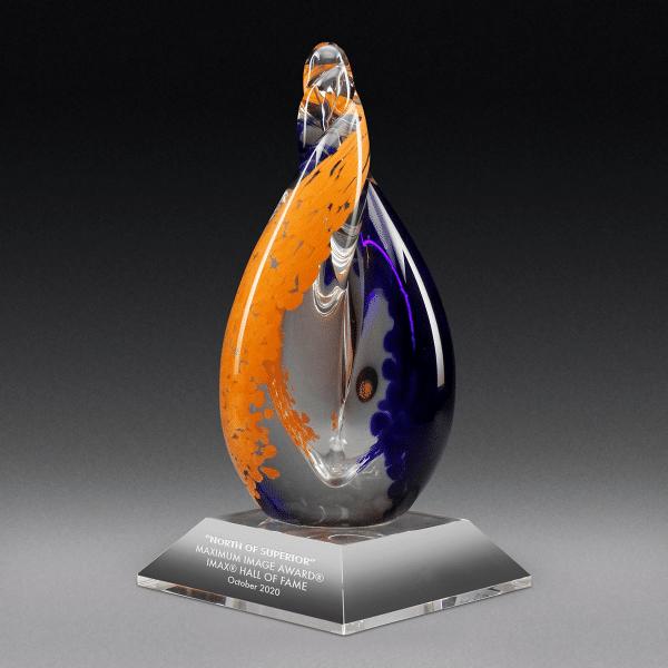 Helix - Cobalt & Orange