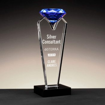 Sapphire Diamond - Blue Crystal Diamond award