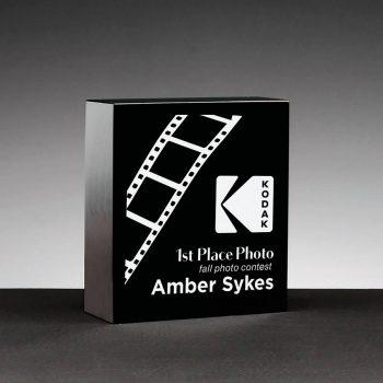 Simple Square Black